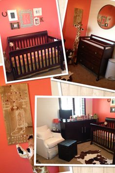 """A Little Bit Country"" baby girl Nursery"