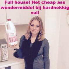 Sinds wij ruim een half jaar geleden verhuisd zijn, zat er hardnekkige aanslag in de toilet. Niet alleen was de aanslag het probleem, maar de toilet verstopte om de havenklap en vrijwel alle afvoeren liepen niet goed af. In de afgelopen 6 maanden heb ik van alles geprobeerd. Van de meest krachtige ontstoppers, tot de 'beste' wc-reinigers. Niets kon mij verlossen van deze ellende. -> http://www.budgi.nl/huis-houden/full-house-het-cheap-ass-wondermiddel-bij-hardnekkig-vuil/