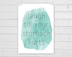 Laugh Print by vaporqualquer on Etsy, $15.00