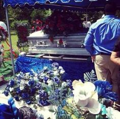 Lil Snupe Funeral in Casket | Lil Snupe Funeral Casket