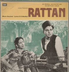 Rattan 1960 Bollywood Vinyl LP