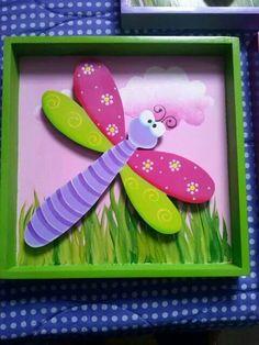 Cuadro libélula