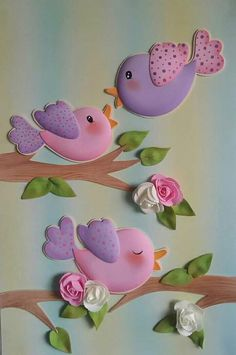Easter Crafts, Diy And Crafts, Crafts For Kids, Arts And Crafts, School Board Decoration, School Decorations, Class Decoration, Baby Set, Fondant Animals