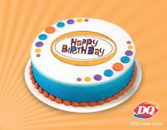 Were Big Fans Of Month Long Birthday Celebrations So For EVERYBODY Celebrating A March Dont Forget The DQ Cake Get Your Today At