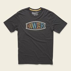 Endless Howler T-Shirt » HOWLER BROTHERS Buffalo T Shirts, Shop Logo, Mens Tees, Shirt Designs, Antiques, Espresso, How To Wear, Skate Surf, Canvas