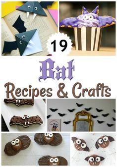 20+ Bat Recipes & Crafts for a FUN Halloween