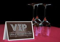 VIP Table Reservation - digi-grafik.com Restaurant, Hotel, Gastgewerbe, Ferienwohnung, Gasthaus