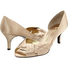 d2e9fec7921a1 Nina culver gold satin. Pageant ShoesBridesmaid ShoesWedding Bridesmaids Bride ...