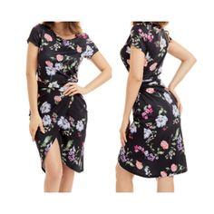 Robe estivale mi-longue imprimé floral - bestyle29.com