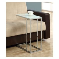 Metal End Table Sofa End Table Side Snack Table Small Tea Coffee Table Furniture #Modern