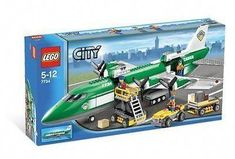 LEGO City Cargo Plane Condition is Used. I have great variation of Lego sets. I have a bunch of other Legos in my inventory, I might possibly have that as well. - [ ] This is a pre-owned item without any box. Lego City Sets, Lego Sets, Avion Cargo, Maersk Line, Hobby Town, Lego Boards, Lego Trains, Lego Room, New Hobbies