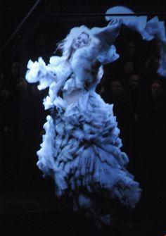 Kate Moss McQueen Widows of Culloden