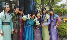 """""""Hwarang""""'s Cast Showed Off Their Good Relationship With V By Attending An Upcoming BTS Concert. The cast of Hwarang is gaining a lot of interest after promi. Go Ara, Park Hyung Sik, Asian Actors, Korean Actors, V Hwarang, Bts Memes, Hwarang Taehyung, Kpop, Cypher Pt 4"""