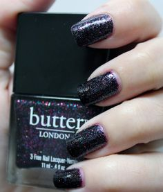 As worn by @Cosmetic Sanctuary Butter London The Black Knight such a pretty color!