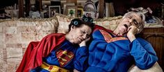 Intriguing photos show superheroes as average, everyday people
