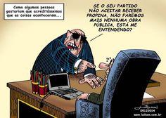 Recortes Político: CHARGE DO LAILSON DO DIA 05 DE DEZEMBRO