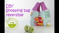 Cómo hacer un shopping bag reversible muy fácil