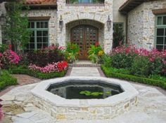 A pond or small pool can be a wonderful accessory for the front yard. 40 Front Yard Landscaping Ideas For A Good Impression