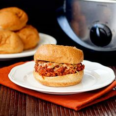 Slow-Cooker Pizza Sloppy Joes