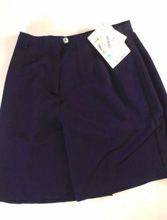"NWT Liz Claiborne Studio Shorts Womens SZ 0-6 Blue 26"" Waist http://etsy.me/1LkDkmu #etsy #clothes #vintage #summer #summertime"