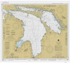 Best Michigan Maps Images On Pinterest Michigan Cards And Maps - Lake huron depth map
