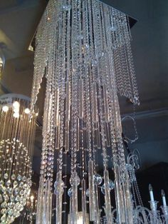 chandeliers - Google Search Ceiling Art, Modern Ceiling, Ceiling Lights, Shine The Light, Light Up, Elegant Chandeliers, Hanging Chandelier, All Of The Lights, Cool Lamps