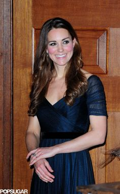 : Kate Middleton made her first solo gala appearance since giving birth to Prince George.