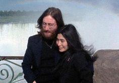 John and Yoko at Niagara Falls