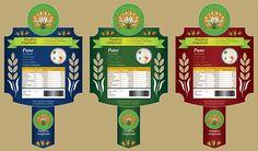 Bozza Etichetta Panificio 8 - Varianti. Bozza grafica etichetta per pane carasau, guttiau e integrale. #giuliabasolugrafica #graphic #illustration #drawing #illustrator #digitalart #vector #label #bakery #breadshop