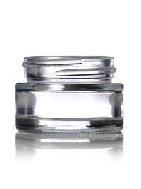 1/2 oz Clear Glass Hunter Cylinder Jar 40-400 : Straight-Sided Glass Jars