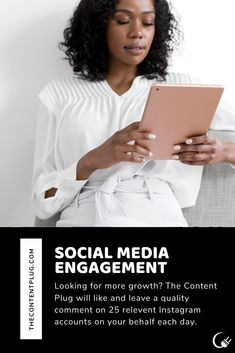 Social Media Engagement — The Content Plug Social Media Engagement, Instagram Accounts, Plugs, Day, Products, Corks, Gadget