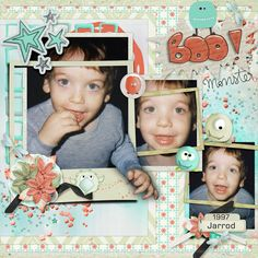 Jarrod by smikeel. kit: Lovely Monster by Butterfly Dsign http://scrapbird.com/designers-c-73/a-c-c-73_514/butterflydsign-c-73_514_568/lovely-monster-page-kit-p-17871.html