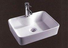 Νιπτήρας Μπάνιου Επικαθήμενος / Επιτραπέζιος 47.5x37x13cm Ceramita  F318B