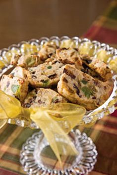 Fruitcake Cookies From: Taste Of The South Magazine, please visit Christmas Treats, Christmas Baking, Christmas Cookies, Holiday Baking, Unique Recipes, Sweet Recipes, Yummy Recipes, Baking Recipes, Cookie Recipes
