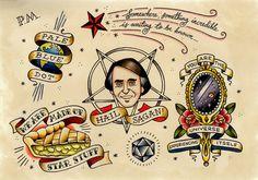 Hail Sagan! Art Print