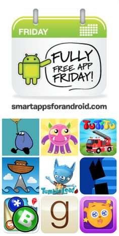 Fully Free App Friday for June 20, 2014 (best free Android kids apps)