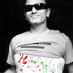 A Happy Birthday Bono Meme Cleft in chin