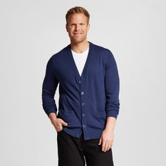 Men's Big & Tall Cardigan - Merona, Size: