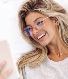 Esme Blue Light Glasses - CLEAR