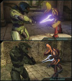 Halo 2: Anniversary Classic Versus Remastered Comparison, still love the classic and prefer it