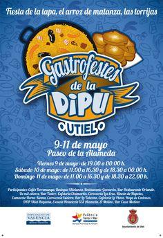 Del 9 al 11 de mayo, Gastrofestes de la Dipu en Utiel Tapas, Frosted Flakes, Mayo, Cereal, Breakfast, Food, Gastronomia, Party, Meal