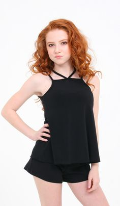 V DOUBLE STRAP TOP - 2820