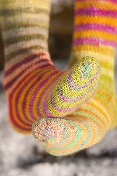 Spring socks-8 by Krentu, via Flickr