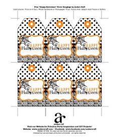 Anders Ruff Custom Designs: Free Halloween Gift Tags