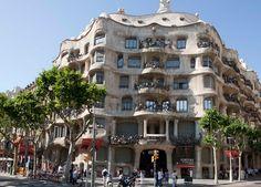4. Casa Milà, La Pedrera, Barcelona