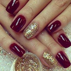 NATURE WHISPER: Beauty: Christmas Eve Nail Art