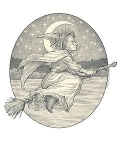 Granny Weatherwax by Eldanis.deviantart.com on @deviantART