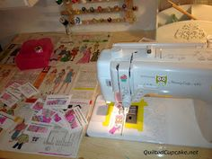 Sewing Machine table tips and tutorial