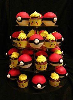 Pokémon Cupcakes. I gotta make these some day XD