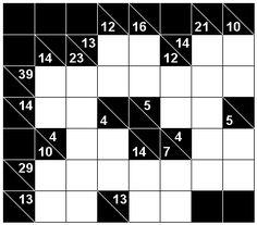 Number Logic Puzzles: 24034 - Kakuro size 2
